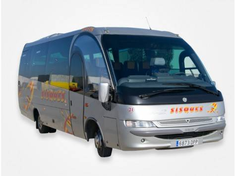Microbus de 32 plazas
