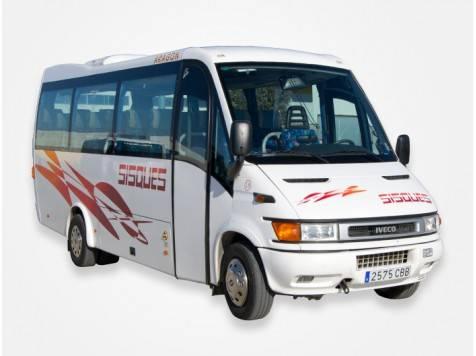 Microbus de 21 plazas